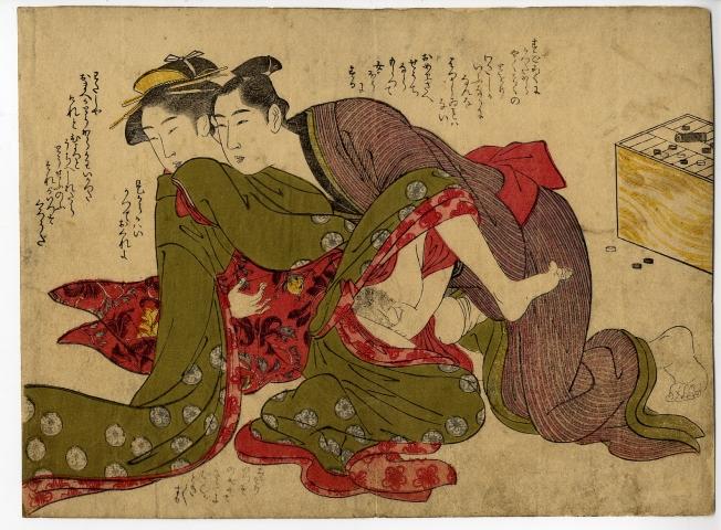 Katsukawa Shuncho Shunga Shunga Ukiyoe Gallery Shukado